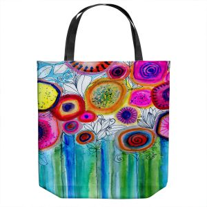 Unique Shoulder Bag Tote Bags | Robin Mead - Hand Picked | Nature Flowers