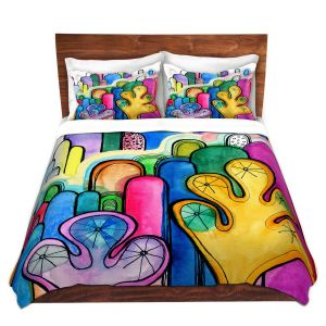 Artistic Duvet Covers and Shams Bedding | Robin Mead - Hurdles
