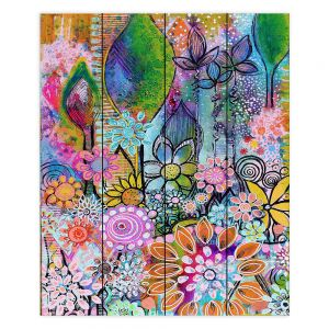 Decorative Wood Plank Wall Art   Robin Mead - Into The Wild