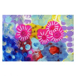 Decorative Floor Coverings | Robin Mead - Jeanie | Floral Pattern Flowers Nature