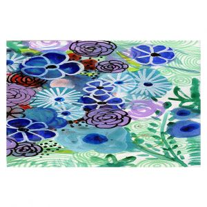Decorative Floor Coverings   Robin Mead - Jenny   Floral Pattern Flowers Nature