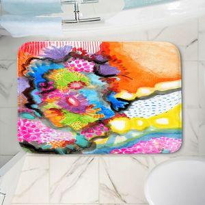 Decorative Bathroom Mats | Robin Mead - Jest | Floral Flower Colorful