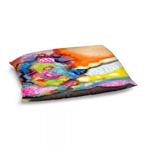 Decorative Dog Pet Beds | Robin Mead - Jest | Floral Flower Colorful