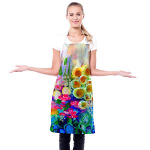 Artistic Bakers Aprons   Robin Mead - Joy and Wonder   Nature Flowers