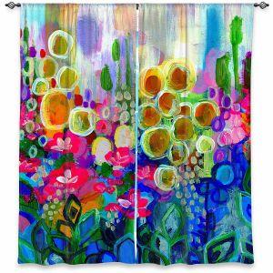 Decorative Window Treatments   Robin Mead - Joy and Wonder   Nature Flowers