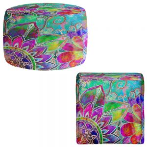Round and Square Ottoman Foot Stools | Robin Mead - Jubilant