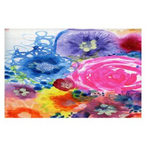 Decorative Floor Coverings | Robin Mead - Julia | Floral Pattern Flowers Nature