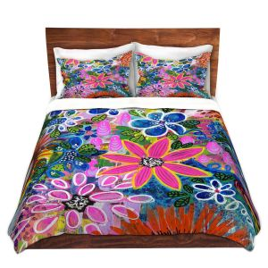 Artistic Duvet Covers and Shams Bedding | Robin Mead - Jungle Love
