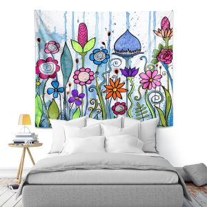 Artistic Wall Tapestry | Robin Mead - Misty