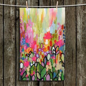 Unique Hanging Tea Towels | Robin Mead - One For the Road | Nature Flowers
