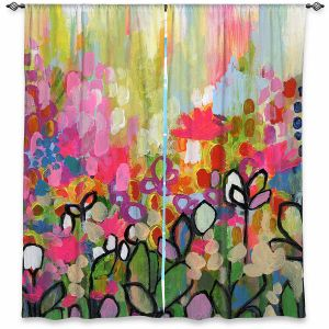 Decorative Window Treatments | Robin Mead - One For the Road | Nature Flowers