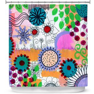 Premium Shower Curtains | Robin Mead - Pizazz ll