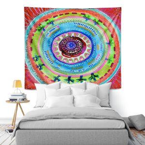 Artistic Wall Tapestry   Robin Mead - Reality   Geometric Pattern