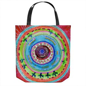 Unique Shoulder Bag Tote Bags | Robin Mead - Reality | Geometric Pattern