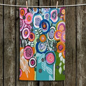 Unique Bathroom Towels | Robin Mead - Still Life 3 | flower vase geometrc