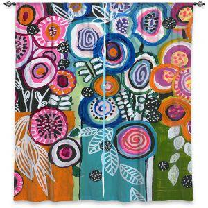 Decorative Window Treatments | Robin Mead - Still Life 3 | flower vase geometrc