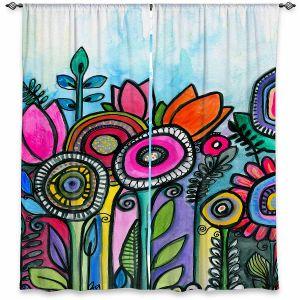 Decorative Window Treatments | Robin Mead - Tuesdays Best | Nature Flowers