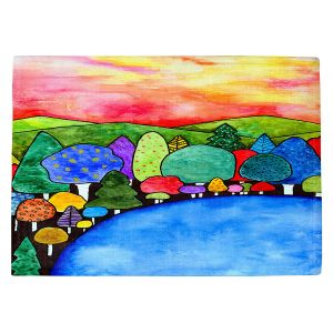 Countertop Place Mats   Robin Mead - Vacation   Landscape Forest Mountains
