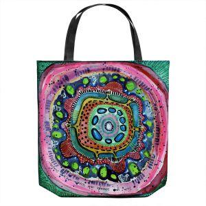 Unique Shoulder Bag Tote Bags | Robin Mead - Wisdom | Geometric Pattern