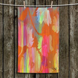 Unique Bathroom Towels | Ruth Palmer - Abstract Garden | Nature pattern