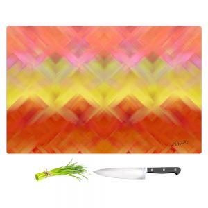 Artistic Kitchen Bar Cutting Boards | Ruth Palmer - Basket Weave | Pattern cross