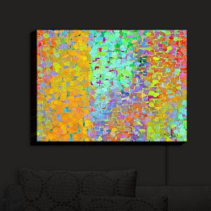 Nightlight Sconce Canvas Light | Ruth Palmer - Brightly Tiles Shapes