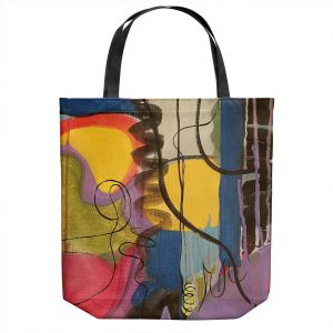 Unique Shoulder Bag Tote Bags | Ruth Palmer - Crazy Mad World | Abstract