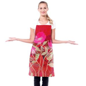Artistic Bakers Aprons | Ruth Palmer - Crowded Spot | Flowers Landscape