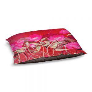 Decorative Dog Pet Beds | Ruth Palmer - Crowded Spot | Flowers Landscape