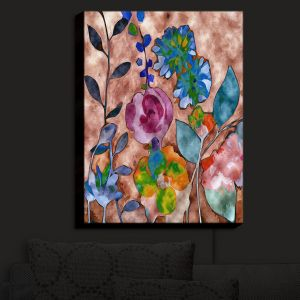 Nightlight Sconce Canvas Light | Ruth Palmer - Fabric Feel Floral