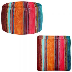 Round and Square Ottoman Foot Stools | Ruth Palmer - Feel Good
