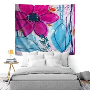 Artistic Wall Tapestry | Ruth Palmer Home Grown I