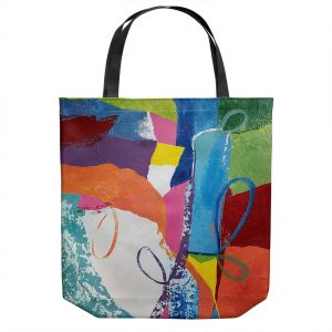 Unique Shoulder Bag Tote Bags | Ruth Palmer - Loopy | Abstract