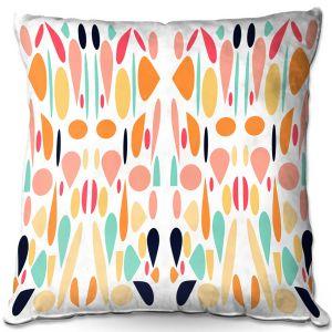 Decorative Outdoor Patio Pillow Cushion   Ruth Palmer - Mid Century Modern 1   Pattern
