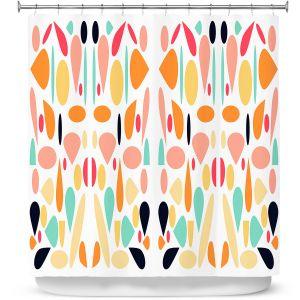 Premium Shower Curtains   Ruth Palmer - Mid Century Modern 1   Pattern