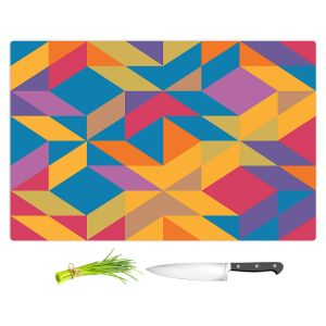 Artistic Kitchen Bar Cutting Boards   Ruth Palmer - Mixed Bag   Pattern Geometric