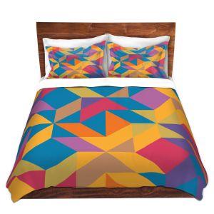Artistic Duvet Covers and Shams Bedding | Ruth Palmer - Mixed Bag | Pattern Geometric