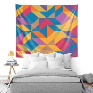 Artistic Wall Tapestry   Ruth Palmer - Mixed Bag   Pattern Geometric