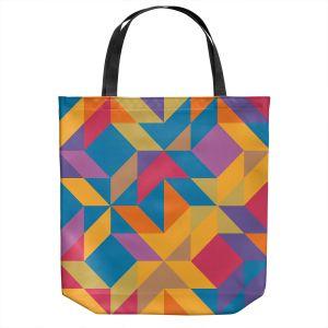 Unique Shoulder Bag Tote Bags   Ruth Palmer - Mixed Bag   Pattern Geometric
