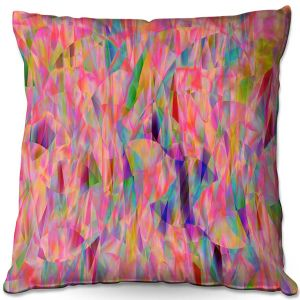 Throw Pillows Decorative Artistic | Ruth Palmer - Mixed Pinks Color 50 | Abstract Pattern