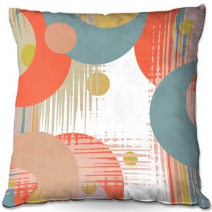 Decorative Outdoor Patio Pillow Cushion | Ruth Palmer - Modern Abstract | Abstract