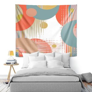 Artistic Wall Tapestry   Ruth Palmer - Modern Abstract   Abstract