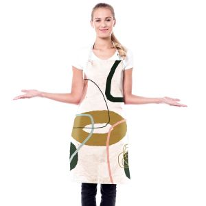Artistic Bakers Aprons   Ruth Palmer - Modern Minimalist Abstract   Abstract Pattern