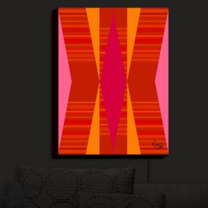 Nightlight Sconce Canvas Light | Ruth Palmer - Orange Pink and Yellow VI