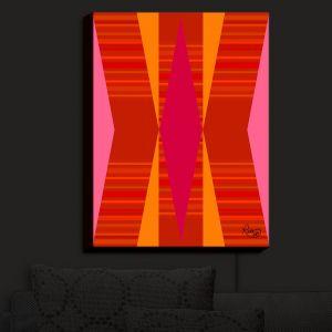 Nightlight Sconce Canvas Light | Ruth Palmer - Orange Pink and Yellow VI