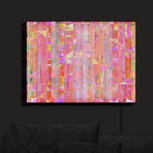Nightlight Sconce Canvas Light | Ruth Palmer - Peeking Pink