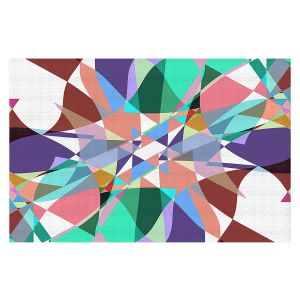 Decorative Floor Covering Mats   Ruth Palmer - Shape Pinch   Geometric Abstract