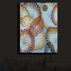 Nightlight Sconce Canvas Light | Ruth Palmer - Swirling Blue
