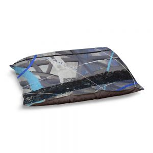 Decorative Dog Pet Beds | Ruth Palmer - Tangled Web 2 | Abstract