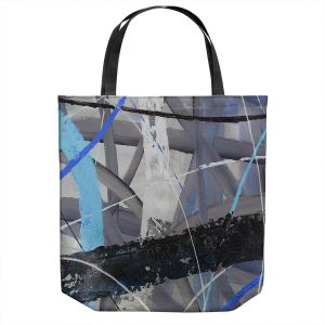 Unique Shoulder Bag Tote Bags   Ruth Palmer - Tangled Web 2   Abstract